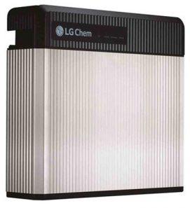 LG Resu Lithium battery
