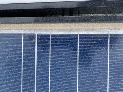 solar panel soiling